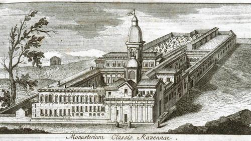 Anonimo, Monasterium Classis Ravennae, 1762 (copyright Biblioteca Classense)