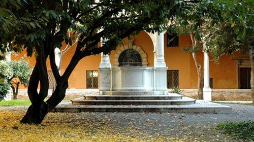 La cisterna disegnata da Domenico Barbiani