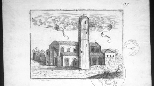 S. Apollinare in Classe Arciv., Mart. e protett. di Rauenna, Venezia, Convento dei Frari, 1708 (copyright Biblioteca Classense)