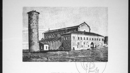 S. Apollinare in Classe fuori, 1880 (copyright Biblioteca Classense)