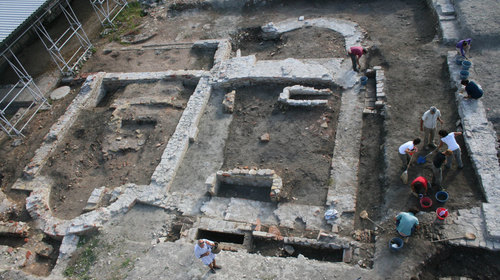 Scavi nel parco archeologico di Classe
