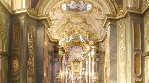La cappella della Madonna del Sudore all'interno della cattedrale