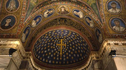 Museo Arcivescovile - Particolare della volta dell cappella di Sant'Andrea