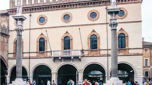 Il Palazzo del Comune o Palazzo Merlato