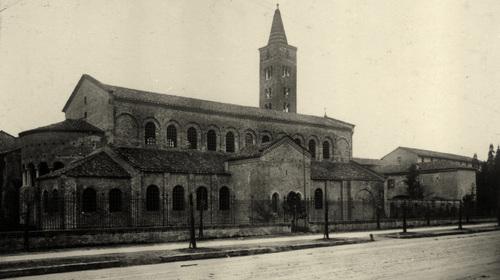 Anonimo, Chiesa di San Giovanni Evangelista, 1927 (copyright Biblioteca Classense)