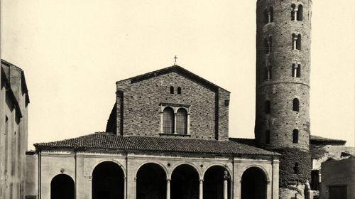 Basilica di Sant'Apollinare Nuovo, Edizioni Anderson, 1927 (copyright Biblioteca Classense)