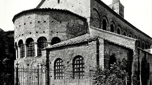 Abside di San Giovanni Evangelista, Edizioni Anderson, 1927 (copyright Biblioteca Classense)