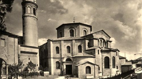 Basilica di San Vitale, Edizioni Anderson, 1927 (copyright Biblioteca Classense)