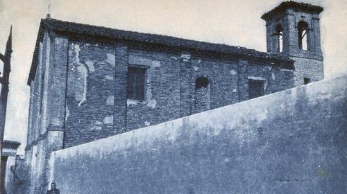 Gaetano Savini, Santa Croce in Piante Panoramiche ,volume II, fig. 114, 1905-1907 (copyright Biblioteca Classense)