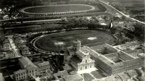 Anonimo, Veduta aerea di Santa Maria in Porto, 1920 (copyright Biblioteca Classense)