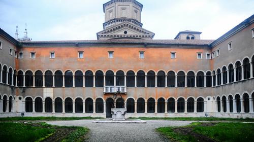 Chiostro interno del MAR - Museo d'Arte della Città di Ravenna